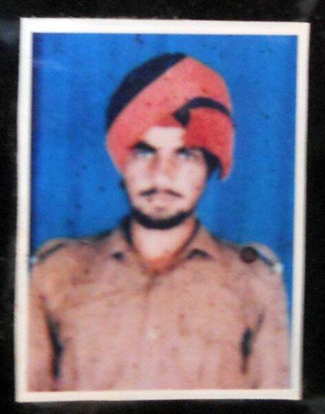 Photo of Charnjit Singh, victim of extrajudicial execution on October 30, 1992, in Khadur Sahib, Tarn Taran CIA Staff, by Punjab Police