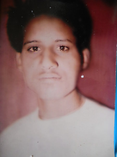 Photo of Hardeep Singh, victim of extrajudicial execution between September 15, 1992 and December 31,  1992, in Jandiala, by