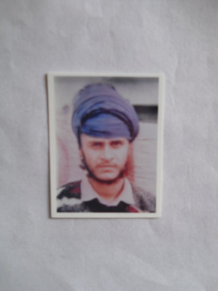 Photo of Dilbagh Singh, victim of extrajudicial execution on June 28, 1992, in Tarn Taran, by Punjab Police