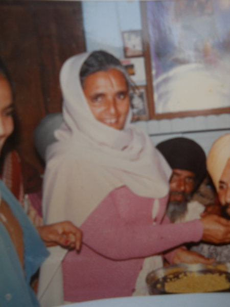 Photo of Harbhajan Kaur, victim of extrajudicial execution between August 1, 1992 and August 30,  1992, in Ludhiana CIA Staff,  by Criminal Investigation Agency, in Hoshiarpur, by Punjab Police