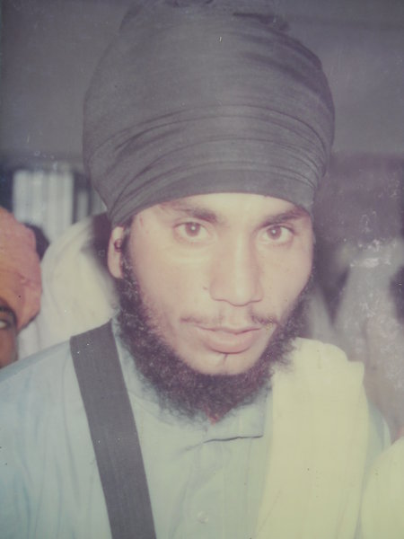 Photo of Balwinder Singh, victim of extrajudicial execution on April 15, 1993, in Tarn Taran CIA Staff, by Punjab Police