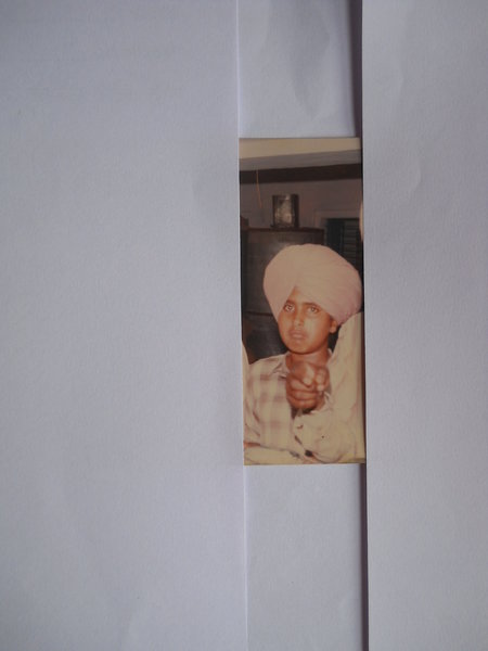 Photo of Harwinder Singh, victim of extrajudicial execution between June 1, 1993 and July 30,  1993, in Khadur Sahib, by Punjab Police