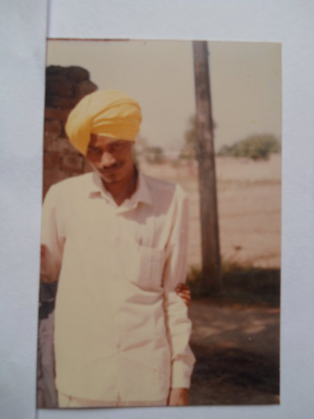 Photo of Palwinder Singh, victim of extrajudicial execution on May 07, 1993, in Jagraon, by Punjab Police