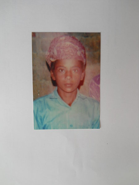 Photo of Hardeep Singh, victim of extrajudicial execution between November 1, 1991 and November 30,  1991, in Kathu Nangal, by Punjab Police