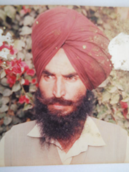 Photo of Ajit Singh,  disappeared on April 30, 1992 by Punjab Police