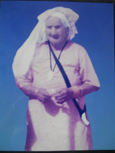 Photo of Puran Kaur, victim of extrajudicial execution on June 5, 1984Army