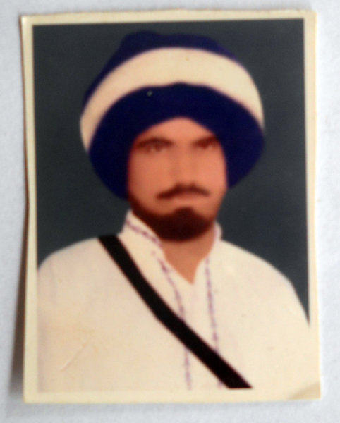 Photo of Ranjit Singh, victim of extrajudicial execution on June 5, 1984Army