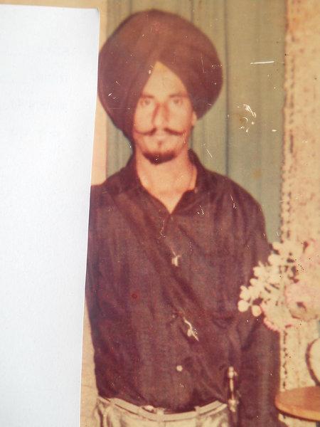 Photo of Sucha Singh, victim of extrajudicial execution on May 22, 1992, in Raja Sansi, Amritsar, Amritsar B.R. Model School Interrogation Center, by Punjab Police