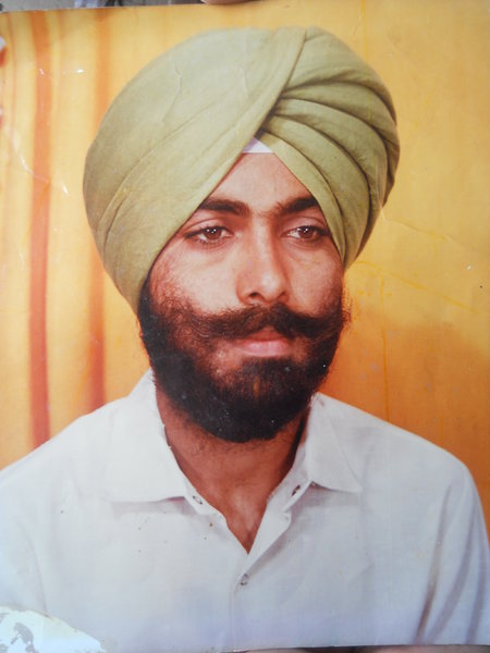 Photo of Gurdeep Singh, victim of extrajudicial execution between August 1, 1990 and September 30,  1990Punjab Police