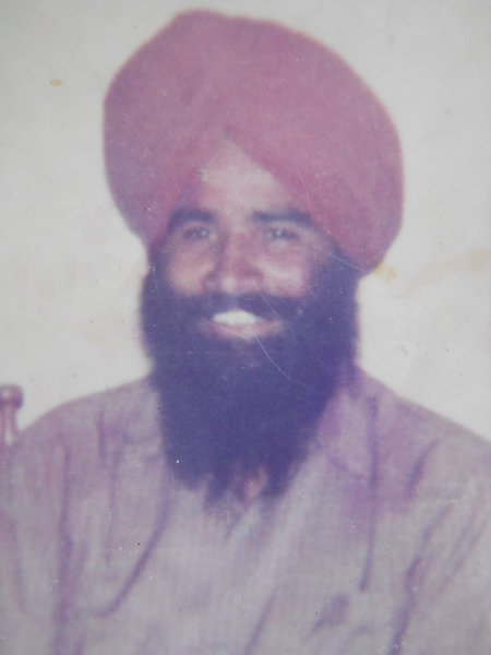 Photo of Bhupinder Singh, victim of extrajudicial execution on May 18, 1987 by Central Reserve Police ForceCentral Reserve Police Force