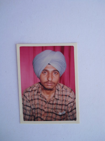 Photo of Harjit Singh, victim of extrajudicial execution on November 3, 1991, in Fatehgarh Churian, by Punjab Police