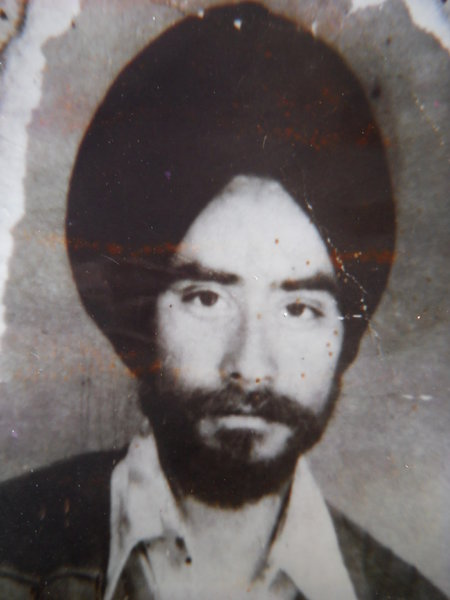 Photo of Major Singh, victim of extrajudicial execution on July 10, 1984 by ArmyArmy