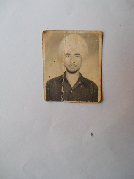 Photo of Khazan Singh,  disappeared between June 1, 1990 and July 30,  1990 by Punjab Police