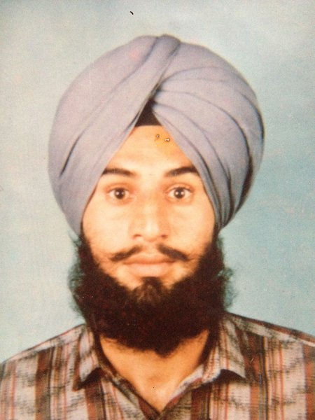 Photo of Lakhwinder Singh, victim of extrajudicial execution on June 08, 1991, in Beas, by Punjab Police