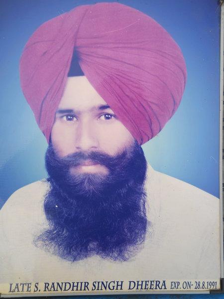 Photo of Randhir Singh, victim of extrajudicial execution on August 28, 1991Punjab Police