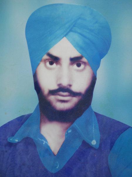 Photo of Shingara Singh, victim of extrajudicial execution between November 15, 1988 and December 31,  1991Punjab Police