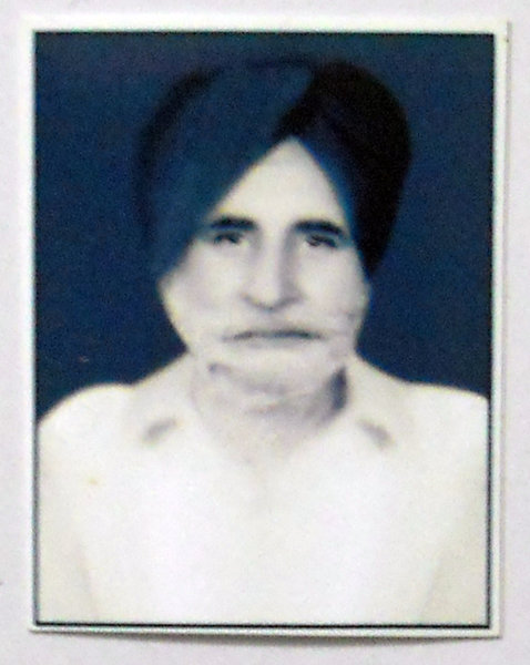 Photo of Surat Singh, victim of extrajudicial execution on June 7, 1984Army