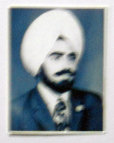Photo of Kuldeep Singh, victim of extrajudicial execution on June 8, 1984, in Gadwal, by Army