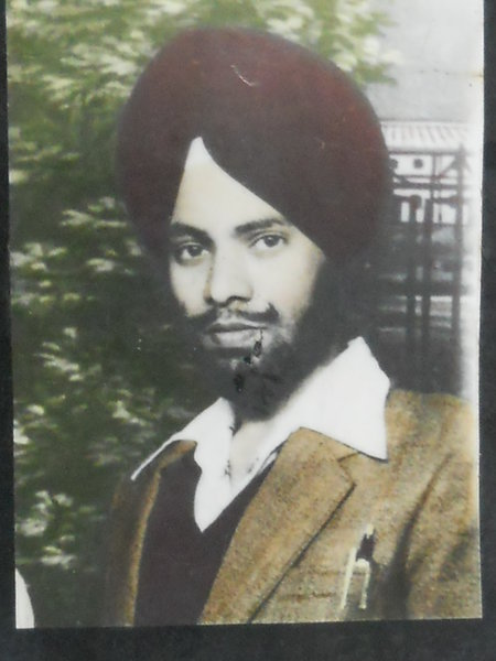 Photo of Baldev Singh, victim of extrajudicial execution on June 08, 1984 by Central Reserve Police ForceCentral Reserve Police Force