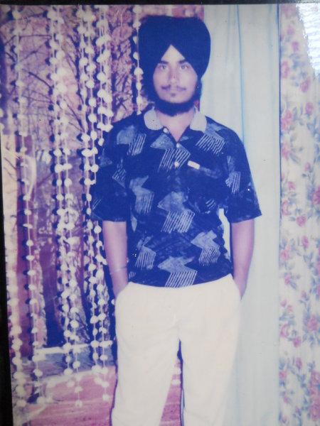 Photo of Amarpal Singh, victim of extrajudicial execution on October 29, 1991Punjab Police