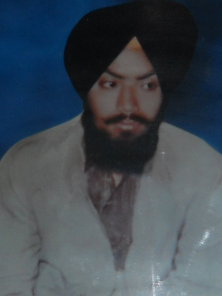 Photo of Bhupinder Singh, victim of extrajudicial execution on October 03, 1990, in Majitha, Rayya, Amritsar, by Punjab Police