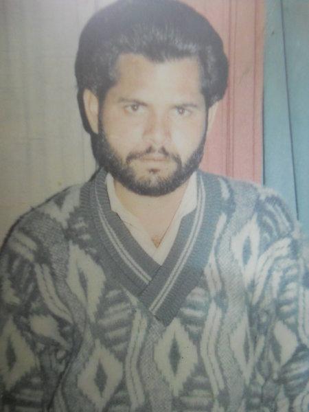Photo of Rajinder Singh, victim of extrajudicial execution on February 23, 1991, in Amritsar, by Punjab Police