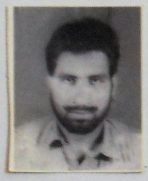 Photo of Sarabjit Singh, victim of extrajudicial execution, date unknown by Central Reserve Police ForcePunjab Police