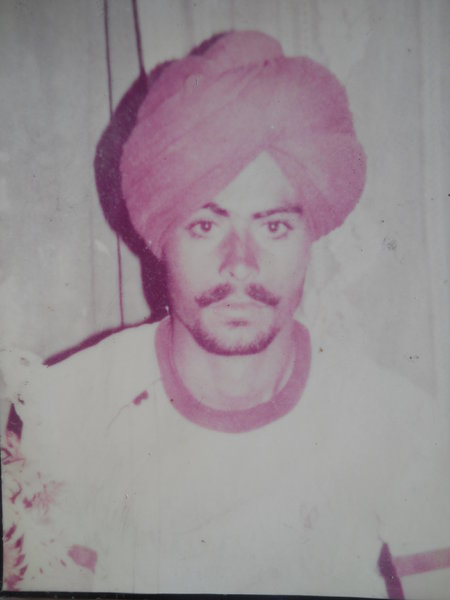 Photo of Gurmej Singh,  disappeared between February 1, 1987 and February 28,  1987 by Central Reserve Police Force