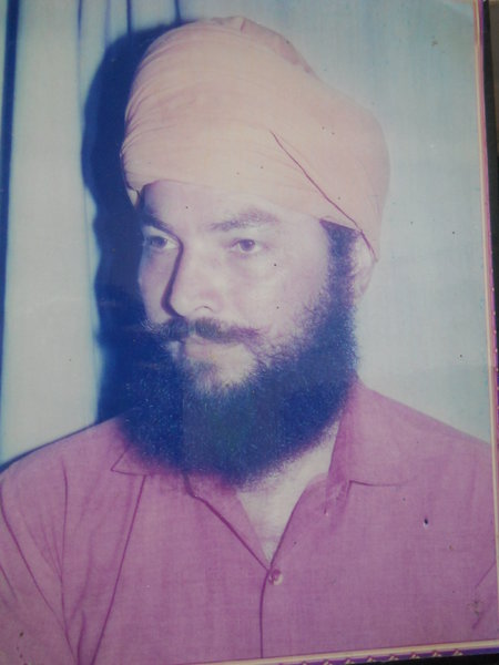 Photo of Harbhajan Singh, victim of extrajudicial execution on April 24, 1991, in Majitha, Jandiala, Amritsar,  by Punjab Police; Central Reserve Police Force, in Majitha, by Punjab Police