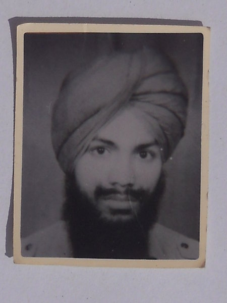 Photo of Daljit Singh, victim of extrajudicial execution between May 24, 1986 and May 25,  1986Punjab Police