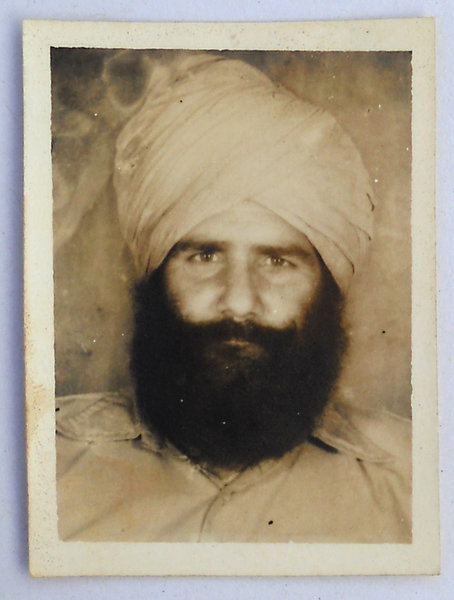 Photo of Sukha Singh, victim of extrajudicial execution on April 04, 1983, in Patiala, by Punjab Police
