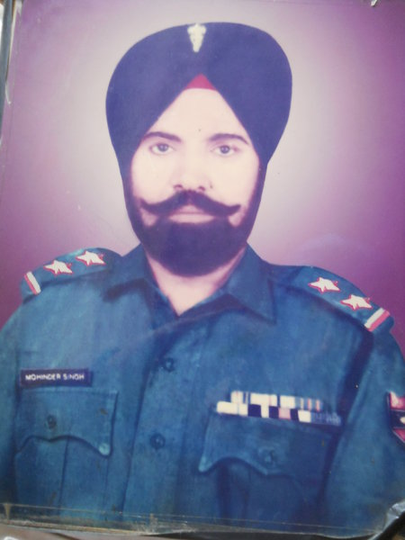 Photo of Mohinder Singh, victim of extrajudicial execution between July 10, 1984 and July 12,  1984 by ArmyArmy