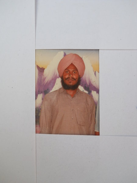 Photo of Kirpal Singh, victim of extrajudicial execution between August 23, 1992 and August 24,  1992