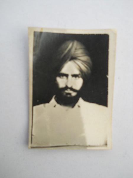 Photo of Pargat Singh, victim of extrajudicial execution on November 17, 1988Punjab Police