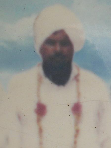 Photo of Bagga Singh, victim of extrajudicial execution between April 13, 1985 and May 15,  1985, in Bundala CRPF Camp,  by Central Reserve Police Force, in Bundala CRPF Camp, by Central Reserve Police Force