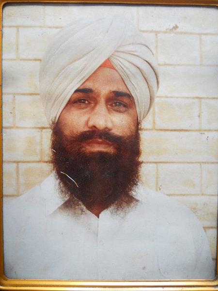 Photo of Mangal Singh, victim of extrajudicial execution on November 01, 1991Punjab Police