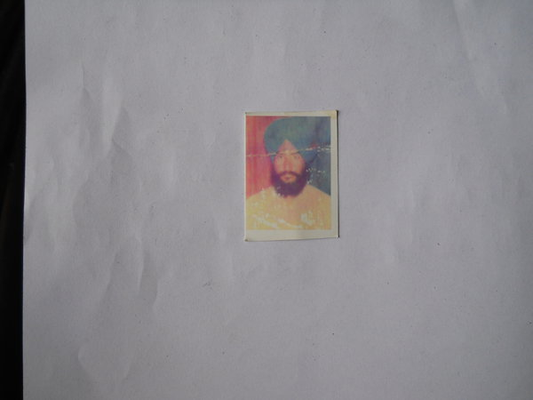 Photo of Sukhdev Singh, victim of extrajudicial execution on December 2, 1992Punjab Police