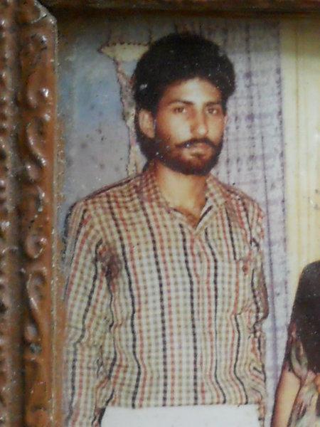 Photo of Charnjit Singh, victim of extrajudicial execution between June 13, 1991 and June 14,  1991Punjab Police