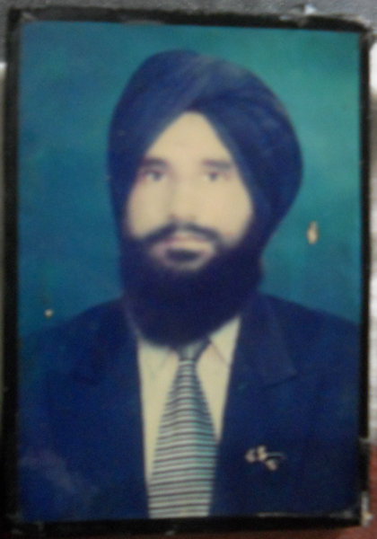 Photo of Ram Singh, victim of extrajudicial execution between August 1, 1984 and August 15,  1984 by Punjab Police; Central Reserve Police ForcePunjab Police; Central Reserve Police Force