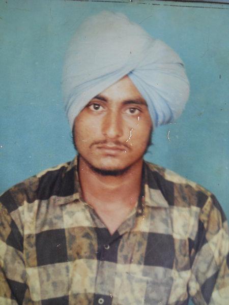 Photo of Manjit Singh, victim of extrajudicial execution on April 08, 1992Punjab Police