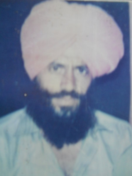 Photo of Jaspal Singh, victim of extrajudicial execution on February 17, 1992, in Zira, by Punjab Police