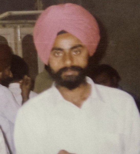Photo of Jaswant Singh, victim of extrajudicial execution on August 14, 1989Punjab Police