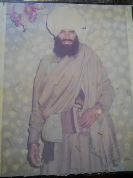 Photo of Ram Lubaha, victim of extrajudicial execution on July 25, 1987 by Border Security ForceBorder Security Force