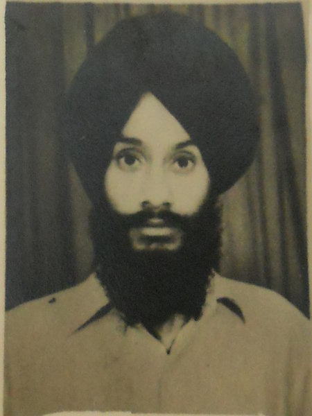 Photo of Balwinder Singh, victim of extrajudicial execution between March 12, 1992 and March 15,  1992, in Amritsar, New Delhi,  by Punjab Police; Central Reserve Police Force, in Amritsar, by Punjab Police
