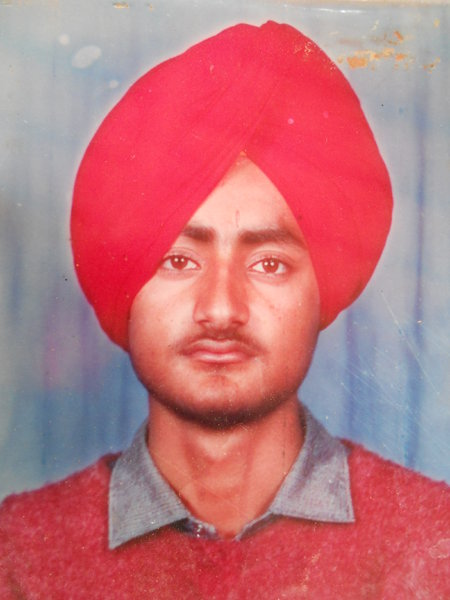 Photo of Tarsame Singh, victim of extrajudicial execution between August 17, 1991 and August 20,  1991Punjab Police