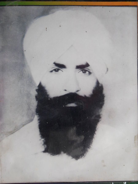 Photo of Sukhdev Singh, victim of extrajudicial execution on July 12, 1988, in Urmar Tanda, by Punjab Police