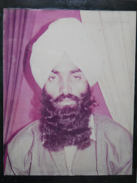 Photo of Jagdev Singh, victim of extrajudicial execution on May 17, 1988 by Punjab Police; Central Reserve Police ForcePunjab Police