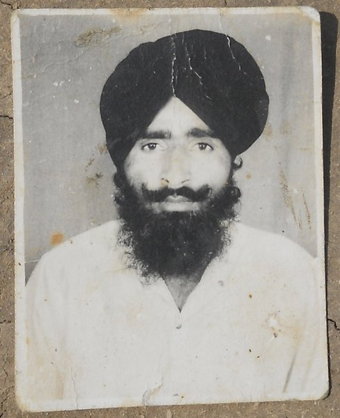 Photo of Ajit Singh, victim of extrajudicial execution between February 1, 1990 and May 31,  1990, in Patti, by Punjab Police