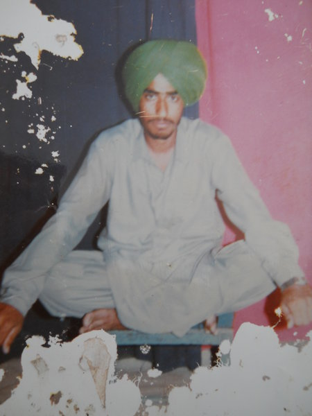 Photo of Nirwail Singh, victim of extrajudicial execution on July 6, 1991, in Patti, Tarn Taran, Kairon, by Punjab Police