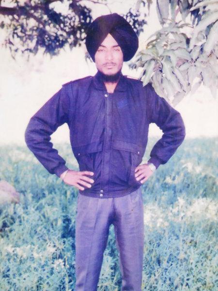 Photo of Jagdish Singh, victim of extrajudicial execution on April 27, 1991, in Tarn Taran, by Punjab Police